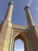 Isfahan_Dar-ol-Ziafeh_Minaret