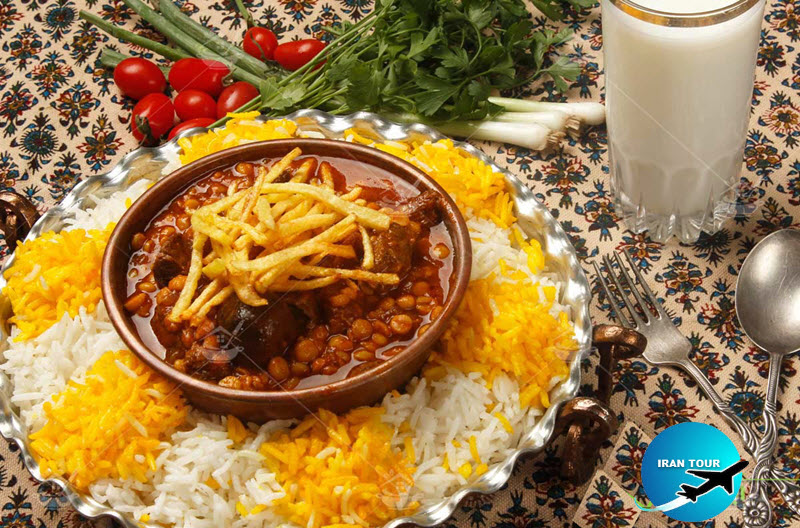 Another popular Iranian cuisine is Gheimeh Polo stew