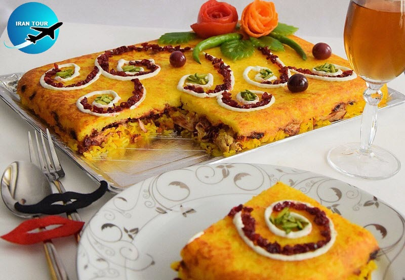This cuisine is known as Iranian cake due to its appearance among tourists