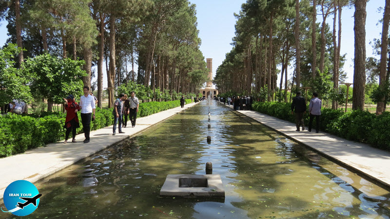 Persian Garden is one of the oldest and most important gardens in the world
