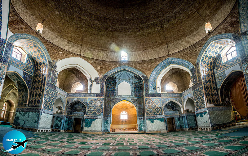 This mosque is known as the Turquoise of Islam