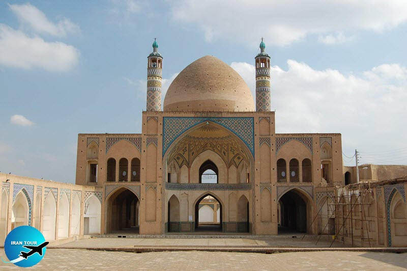 Agha Bozorg Mosque Kashan Historical sites