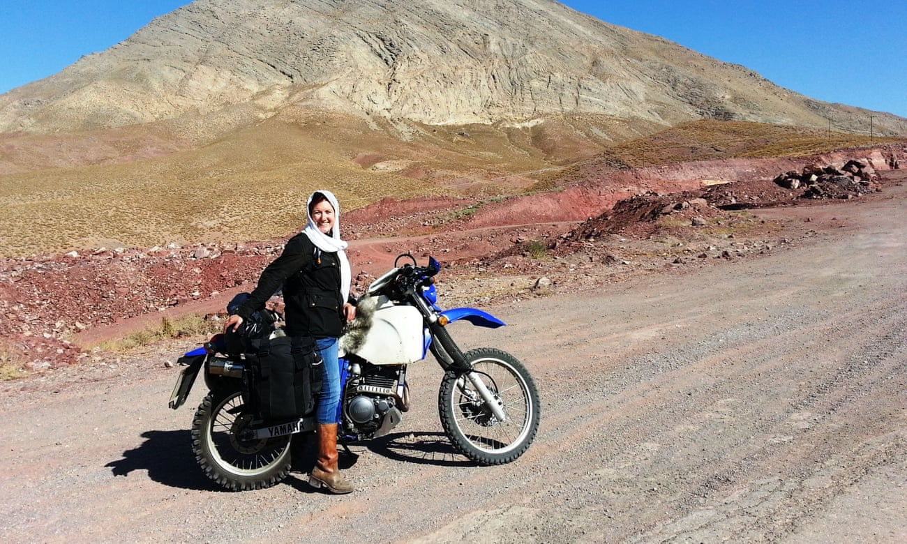 A motorcycling adventure across Iran: