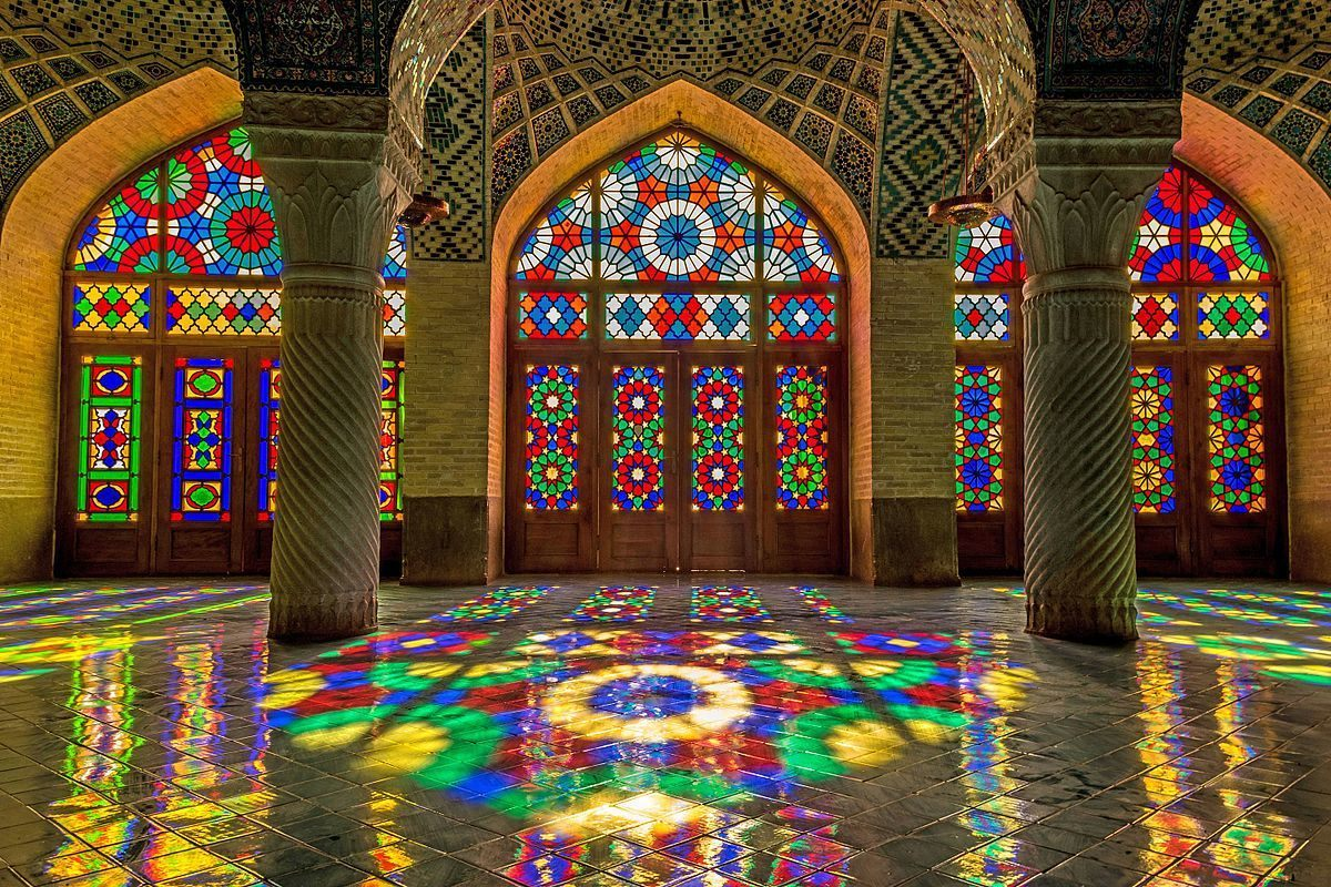 Nasir Ol Molk Mosque or Pink Mosque