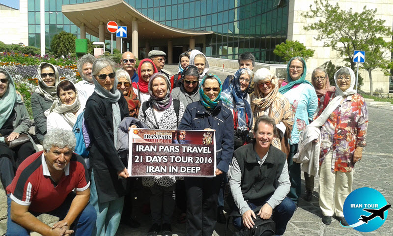 Group tours to Iran with iran pars travel agent