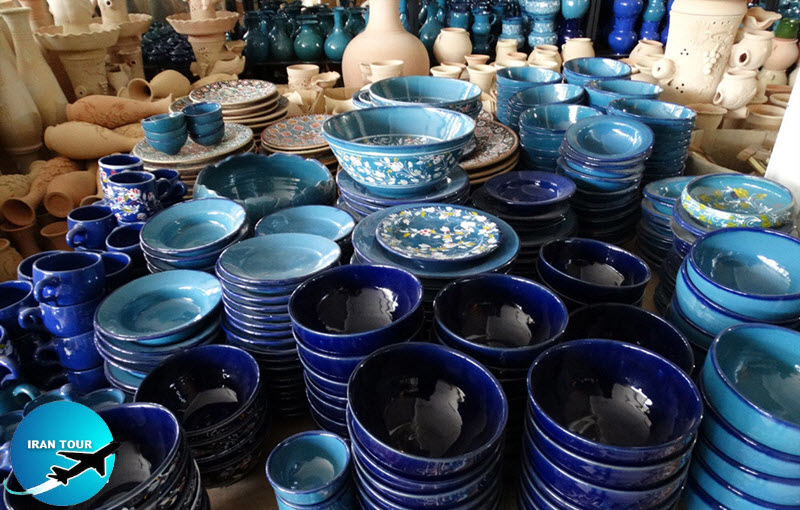 Ceramic and pottery are ambassadors of Hamedan's handicrafts
