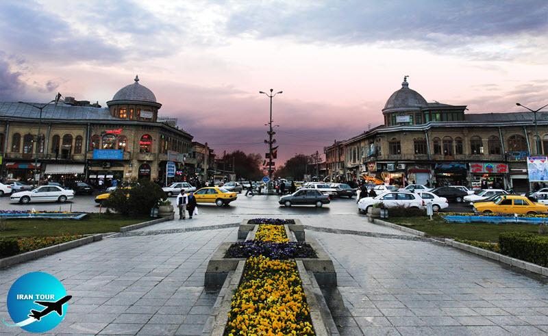The most important feature of Hamedan is its plan, which was designed by German civil engineer