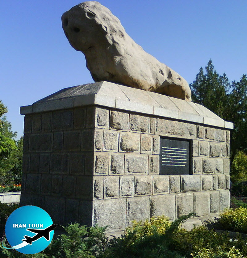 Hamedan Stony Lion statue is a great and pervasive myth covering the entire Hamedan history