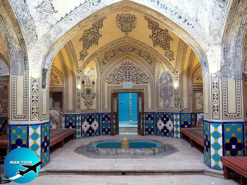 This bath is built in Naserdin-Shah period in 1910 based on Safavid style