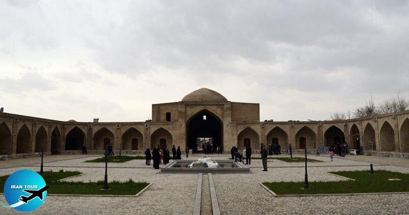 This caravanserai is one of the caravansaries of safavid era 17th century