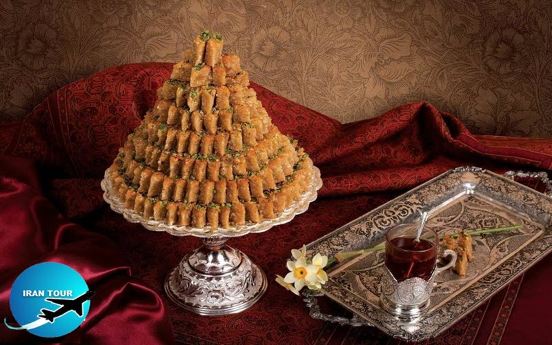delicious sweets from Yazd and  Haji Khalifeh