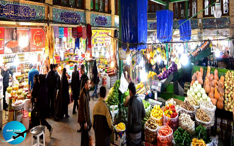 It is an old and traditional bazaar much smaller than the grand bazaar