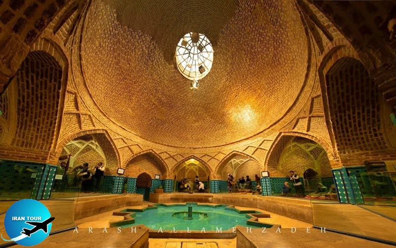 Qajar bath Qazvin city