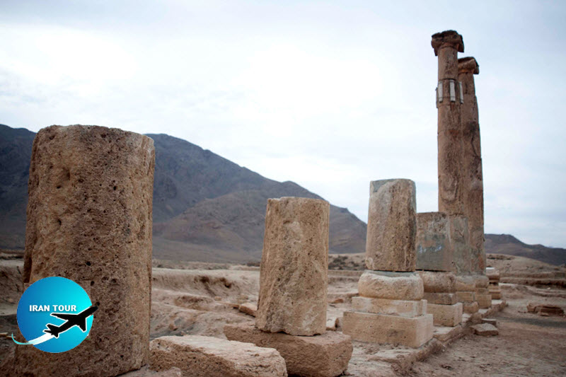 The Khorhe historic site is one of the historical monuments of the Parthian era